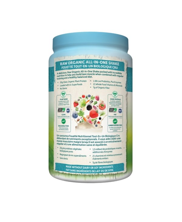 Garden of Life - All-In-One Nutritional Shake - Lightly Sweet Unflavoured - 1038g