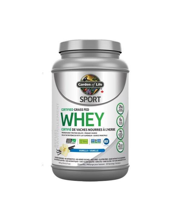 Garden of Life - Sport Whey protein - Vanilla - 640g