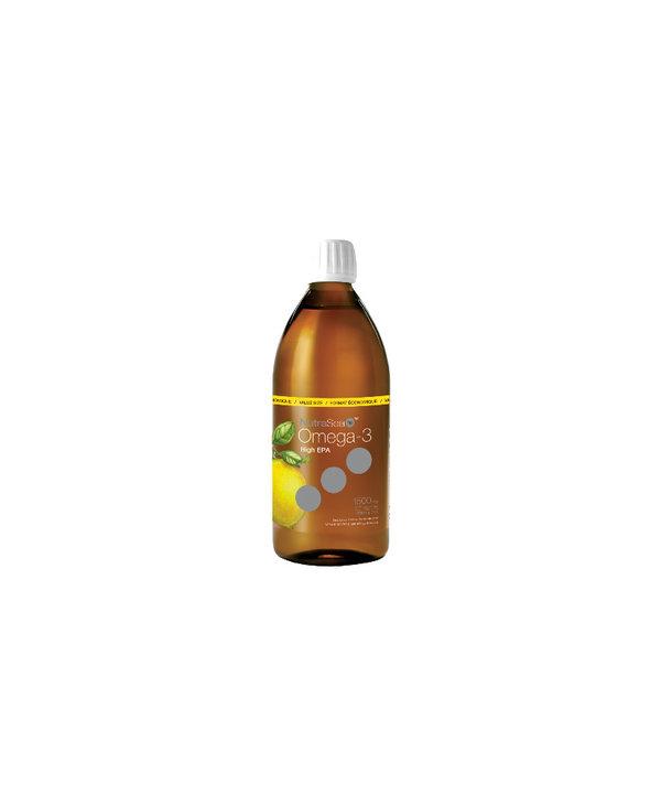 NutraSea hp - Omega-3 Extra Strength EPA - Zesty Lemon - 500ml