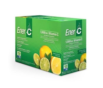 Ener-C - 1000 mg Vitamin C - Lemon Lime - Box of 30
