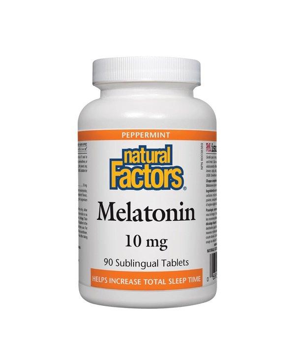 Natural Factors - Melatonin 10mg - 90 Tabs