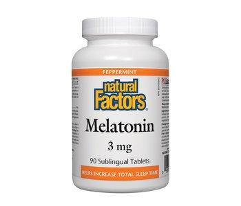 Natural Factors - Melatonin 3mg - 90 Tabs