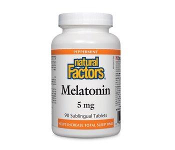 Natural Factors - Melatonin 5mg - 90 Tabs