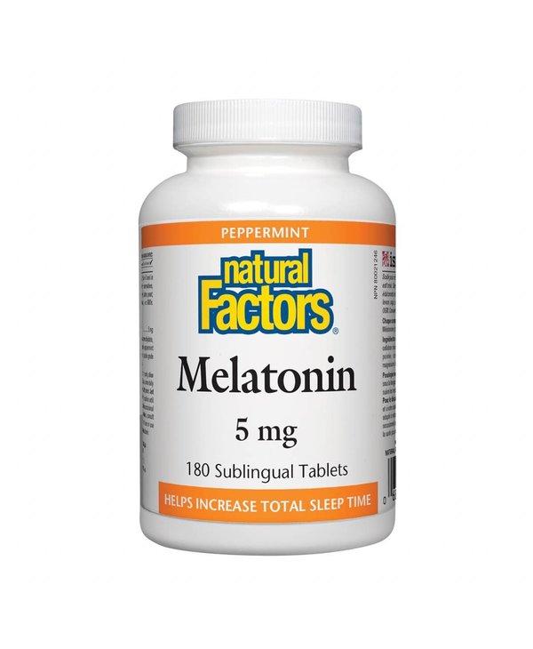 Natural Factors - Melatonin 5mg - 180 Tabs