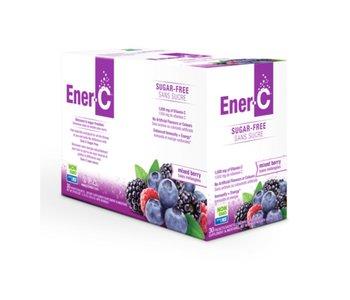 Ener-C - 1000 mg Vitamin C - Sugar Free - Mixed Berry - Box of 30