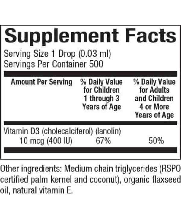 Natural Factors - Big Friends - Vitamin D - 15ml