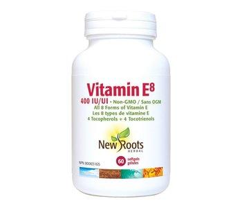New Roots - Vitamin E8 400IU - 60 SG