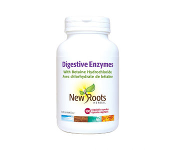 New Roots - Digestive Enzymes - 100 V-Caps