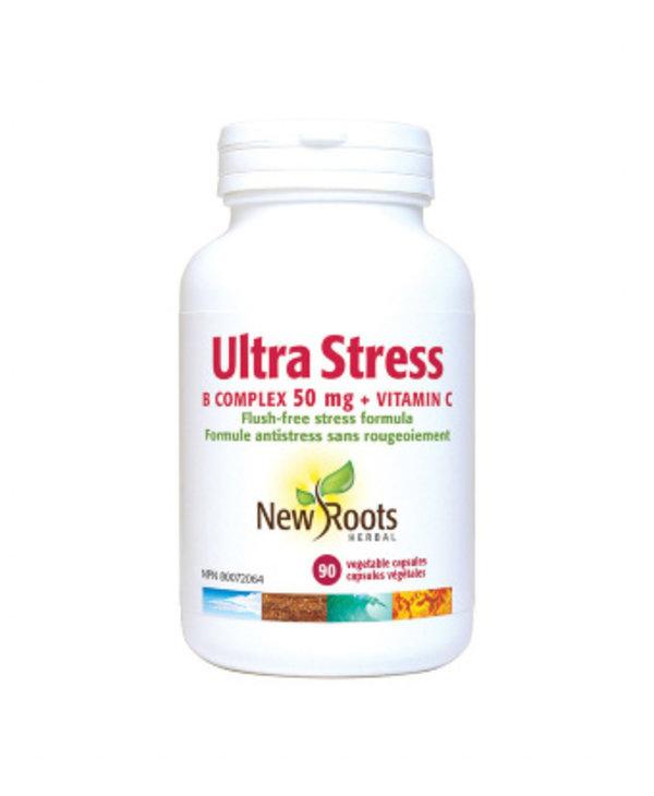 New Roots - Ultra Stress B Complex - 90 V-Caps