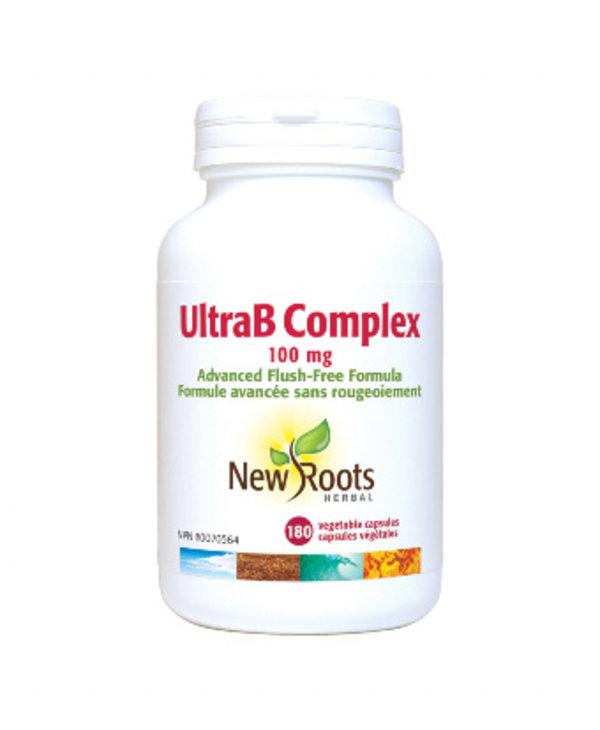 New Roots - Ultra B Complex 100mg - 180 Caps
