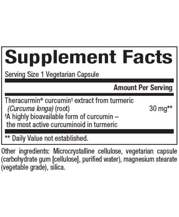 Natural Factors - CurcuminRich - Theracurmin - 120 V-Caps