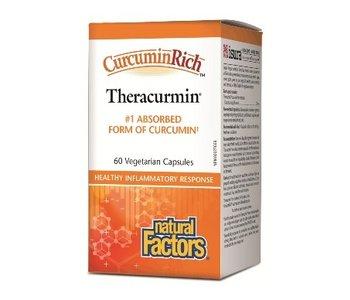 Natural Factors - CurcuminRich - Theracurmin - 60 V-Caps