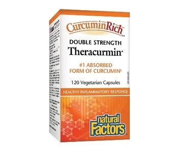 Natural Factors - CurcuminRich - Theracurmin Double Strength - 120 V-Caps