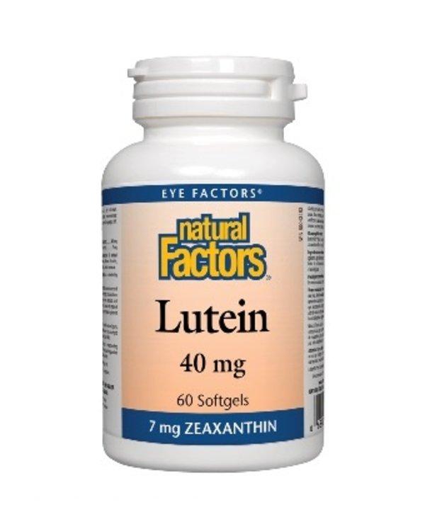 Natural Factors - Lutein 40 mg - 60 SG
