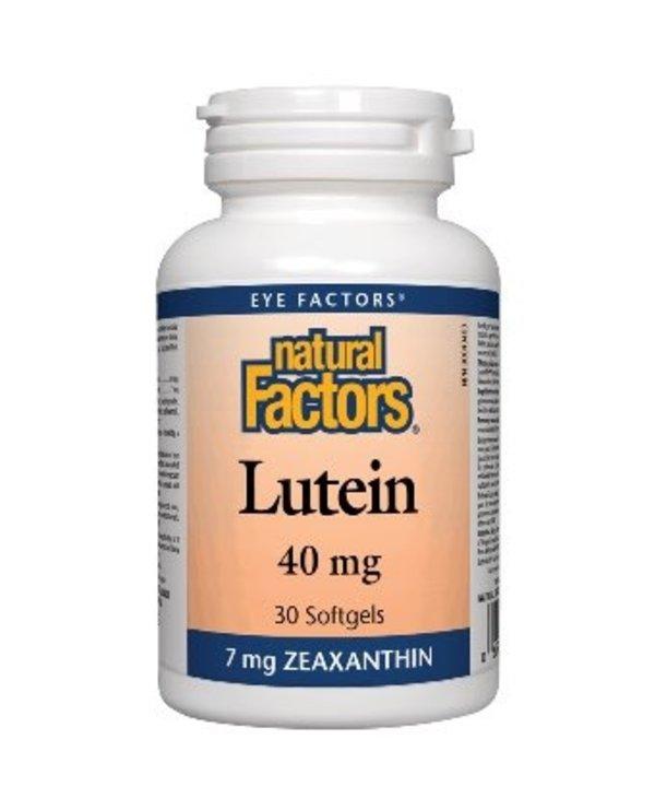 Natural Factors - Lutein 40mg - 30 SG