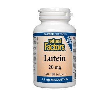 Natural Factors - Lutein 20mg - 150 SG Bonus Size