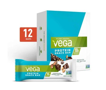 Vega - Protein Snack Bar (NEW) - Chocolate Peanut Butter - Box of 12