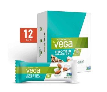 Vega - Protein Snack Bar (NEW) - Coconut Almond - Box of 12