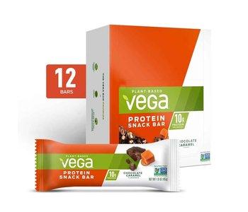 Vega - Protein Snack Bar (NEW) - Chocolate Caramel - Box of 12