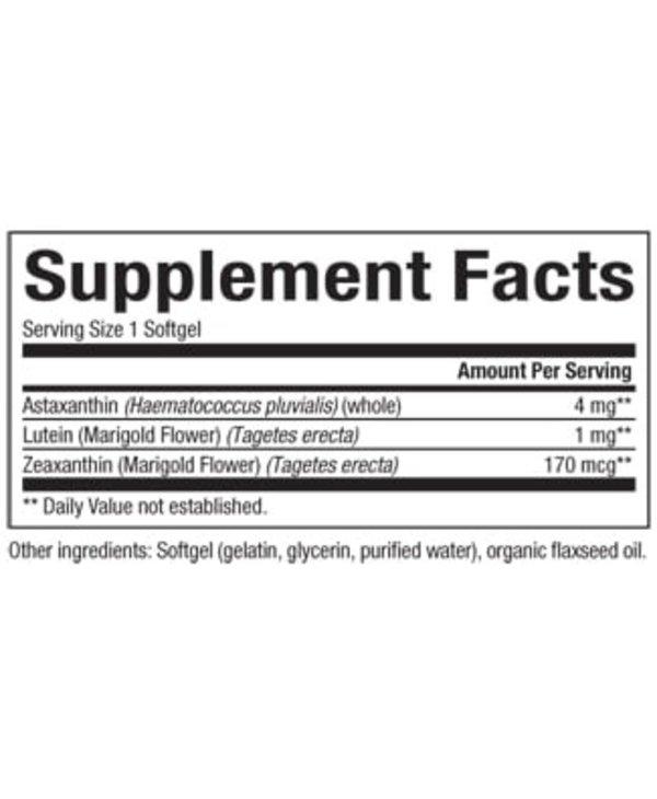 Natural Factors - Astaxanthin Plus - 60 Caps