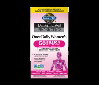 Garden Of Life - Dr. Formulated - Probiotics - Womens daily 50 billion - 30caps