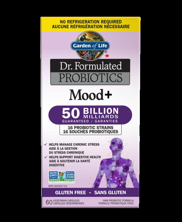 Garden Of Life - Dr. Formulated Probiotics - Mood+ 50 billion - 60 V-Caps