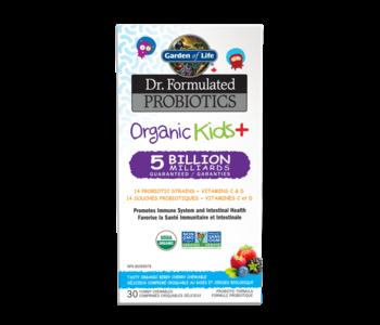 Garden of Life - Dr. Formulated Probiotics - Organic Kids+ 5 Billion - Berry Cherry - 30 Chewable