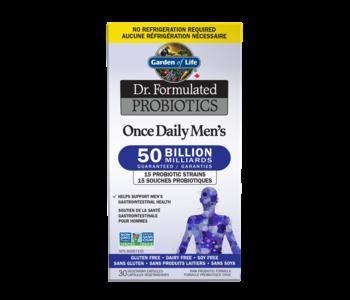 Garden Of Life - Dr. Formulated Probiotics - Daily Men's 50 billion - 30 V-Caps