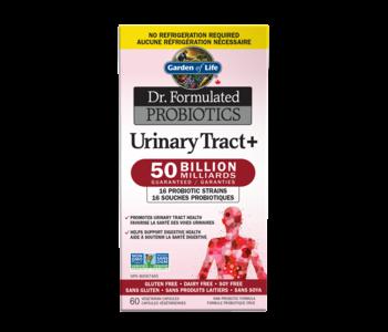 Garden Of Life - Dr. Formulated Probiotics - Urinary Tract + - 50 Billion - 60 V-Caps