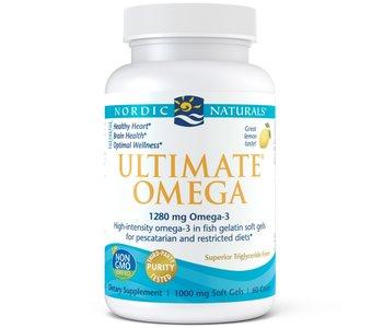 Nordic Naturals - Ultimate Omega-3 - Lemon - 120 SG