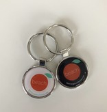 The Orange Beach Store Metal Key Chain