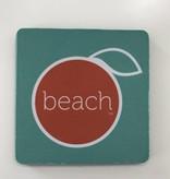 The Orange Beach Store neoprene coaster