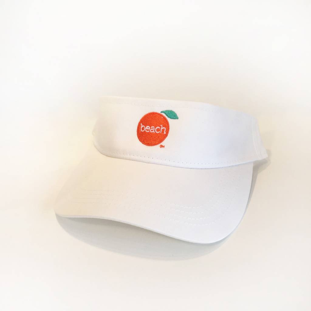 The Orange Beach Store Twill Low-Rise Visor