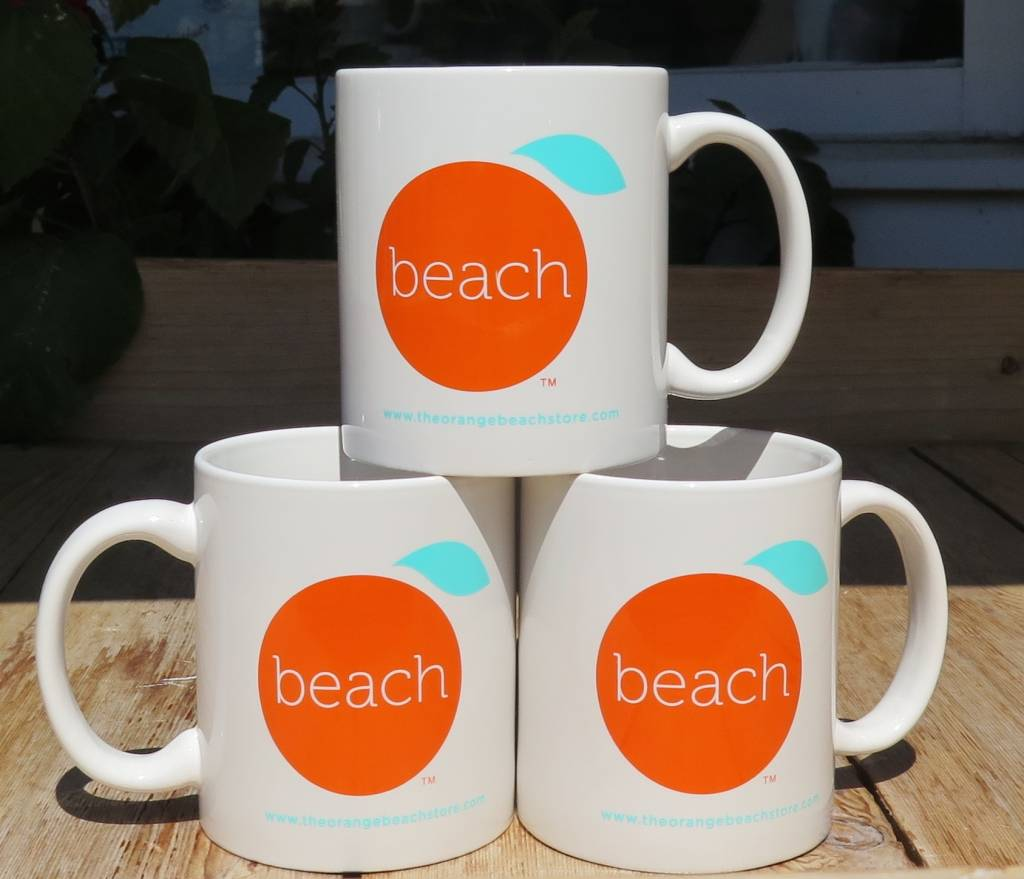 The Orange Beach Store Mug