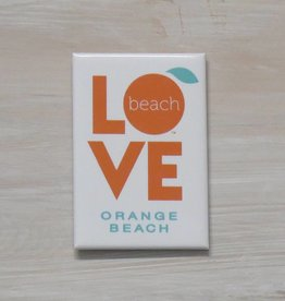 The Orange Beach Store Love Magnet