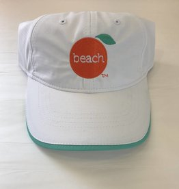 The Orange Beach Store Ladies Performance Cap White/Celadon