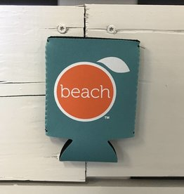 The Orange Beach Store Logo Koozie