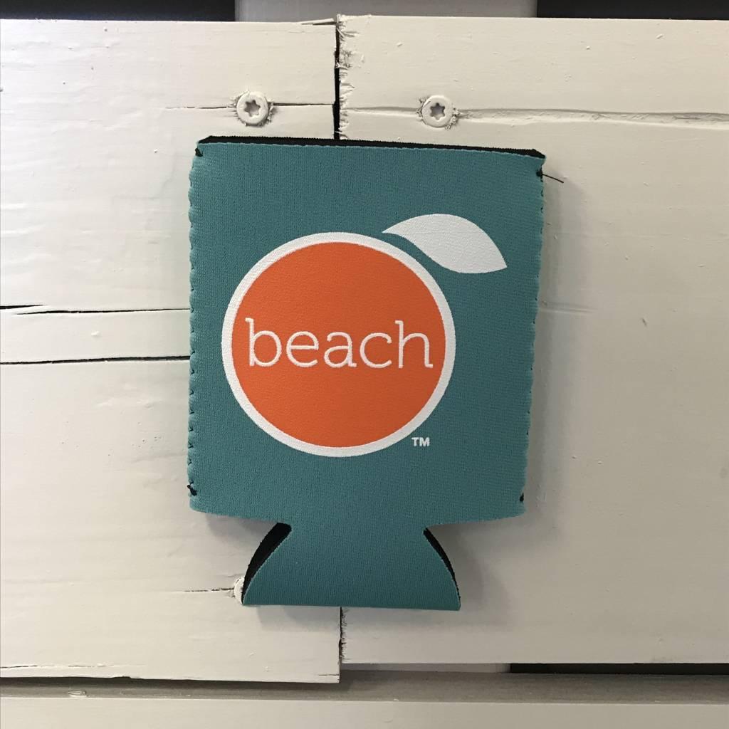 The Orange Beach Store Logo Koozie