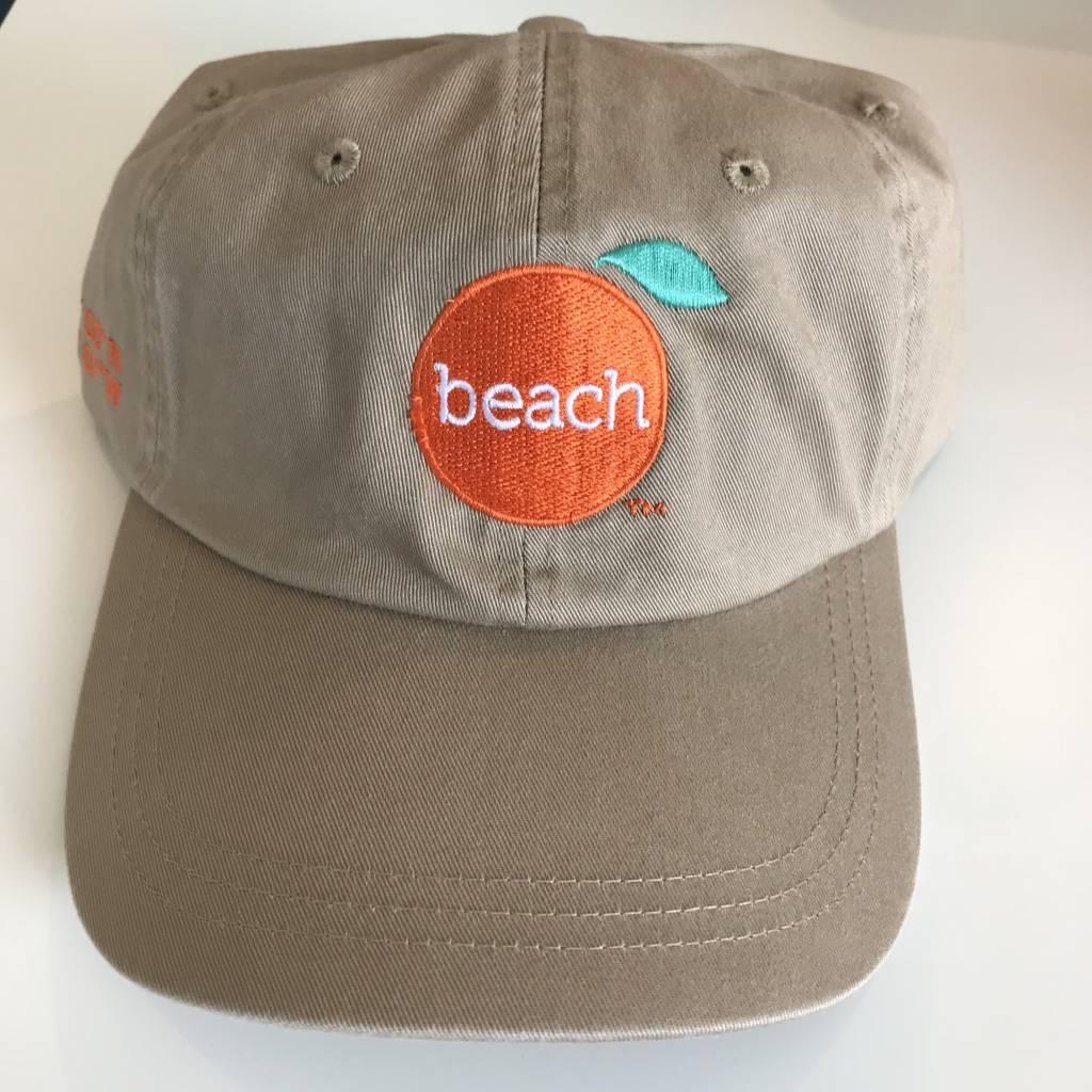 The Orange Beach Store Khaki Velcro Cap