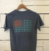 Short Sleeve Flag Tee