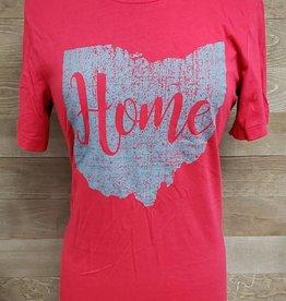 Home Red w/ Gray Ohio Crew Neck