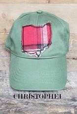 OHIO HAT OLIVE BASEBALL CAP