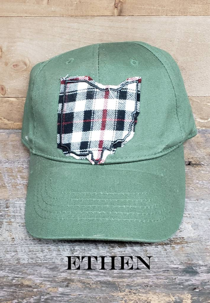 OHIO HAT OLIVE BASEBALL CAP
