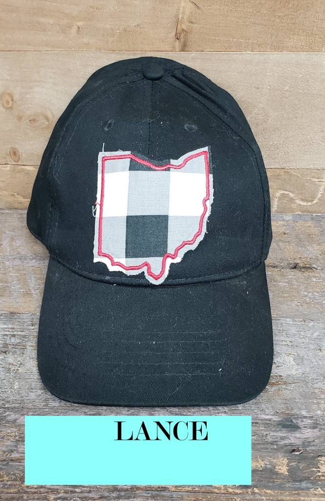 OHIO HAT BLACK BALL CAP