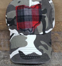 OHIO HAT WHITE CAMO