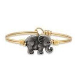 Elephant on Brass