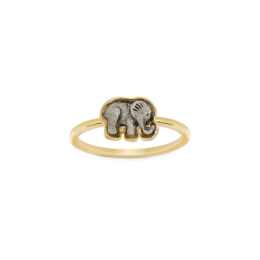 Elephant Ring- Gold