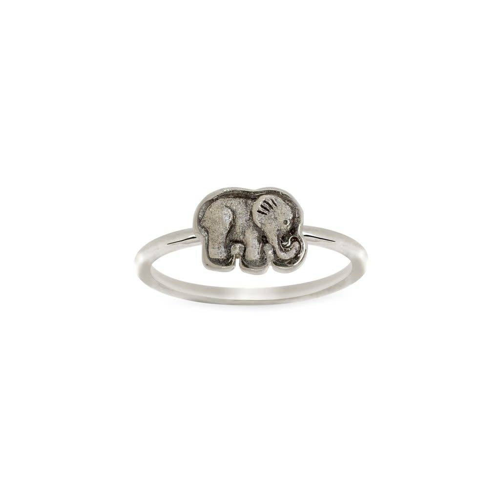Elephant Ring- Silver