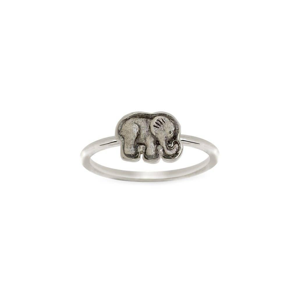 Ring Elephant- Silver
