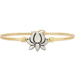 Lotus Flower Brass